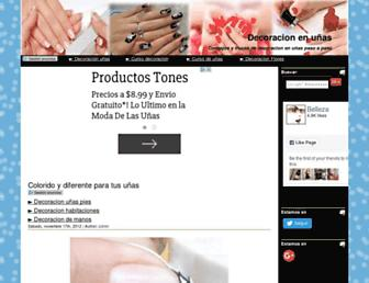 decoracion-en-unas.com screenshot