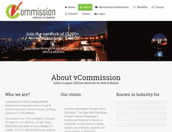Thumbshot of Vcommission.com