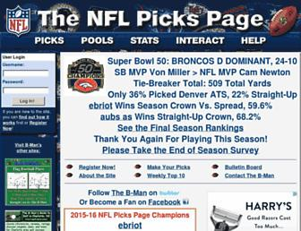 Thumbshot of Nflpickspage.com