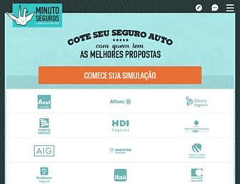 minutoseguros.com.br screenshot