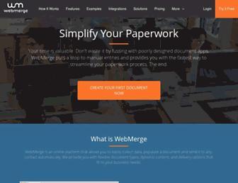 Thumbshot of Webmerge.me