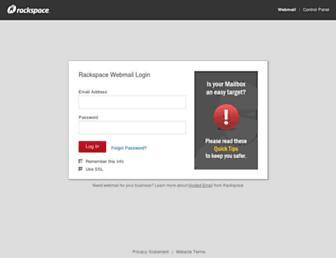 apps.rackspace.com screenshot