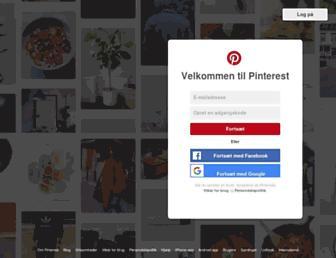 pinterest.dk screenshot