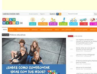 solohijos.com screenshot