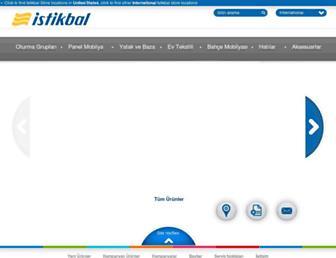Main page screenshot of istikbal.com.tr