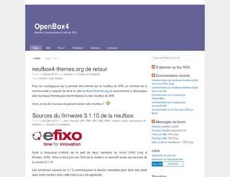 neufbox4.org screenshot