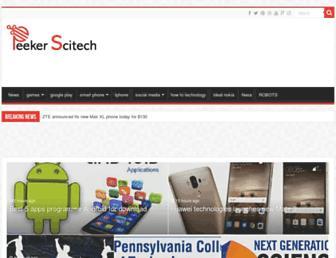 peekerscitech.com screenshot