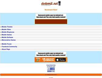 dedomil.net screenshot