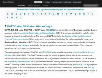 bank-code.net screenshot