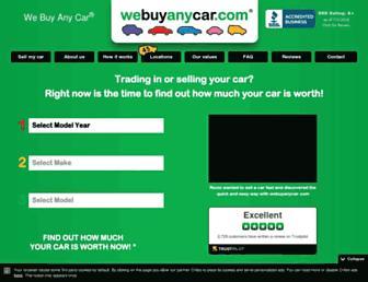 webuyanycar.com screenshot