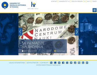 blogi.umk.pl screenshot
