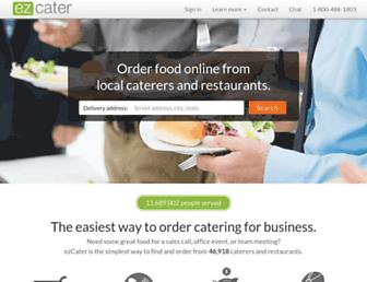 ezcater.com screenshot