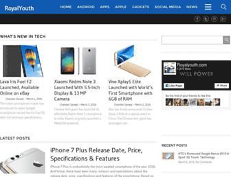 royalyouth.com screenshot