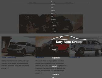 katyautogroup.com screenshot