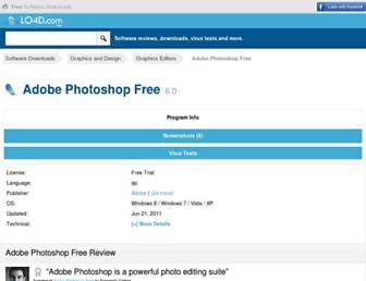 adobe-photoshop-free.en.lo4d.com screenshot