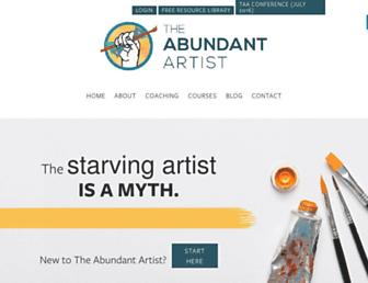 Thumbshot of Theabundantartist.com