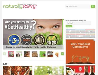 Thumbshot of Naturallysavvy.com