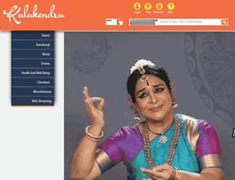 kalakendra.com screenshot