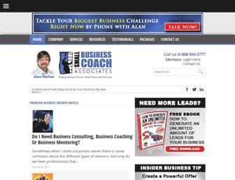 smallbusinesscoach.org screenshot