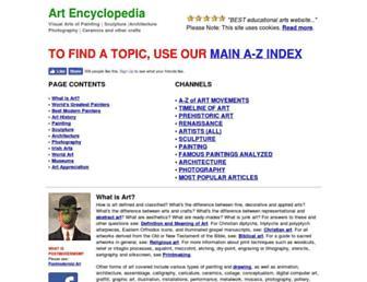 visual-arts-cork.com screenshot