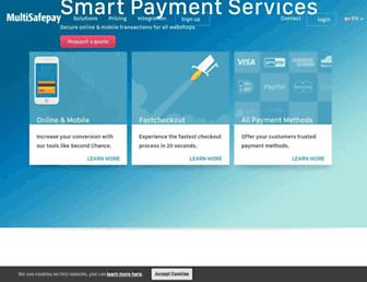 Thumbshot of Multisafepay.com