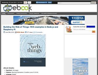 Thumbshot of Wowebook.org