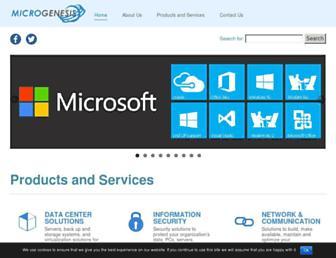 mgenesis.com screenshot