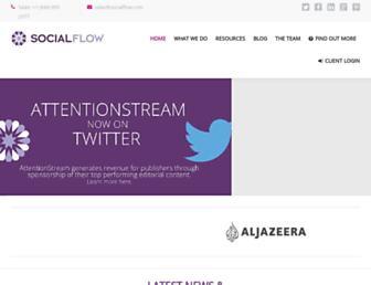 Thumbshot of Socialflow.com