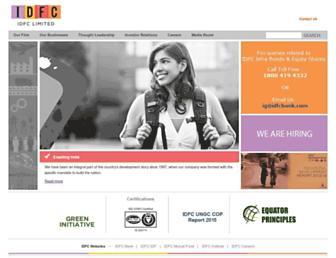 Thumbshot of Idfc.com