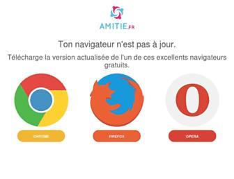 amitie.fr screenshot