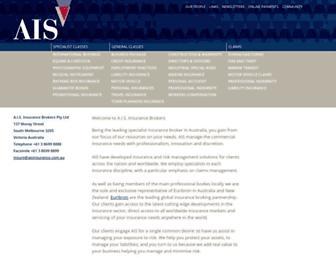 aisinsurance.com.au screenshot