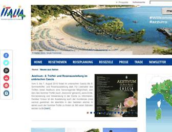 Main page screenshot of enit.de