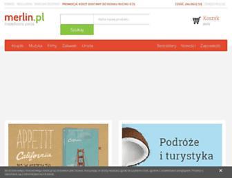 merlin.pl screenshot