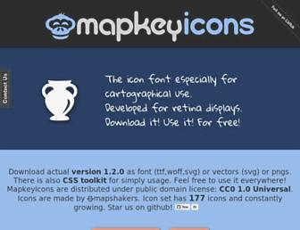 mapkeyicons.com screenshot