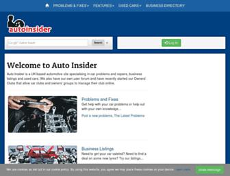 autoinsider.co.uk screenshot