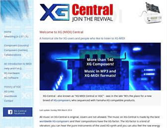 xg-central.com screenshot