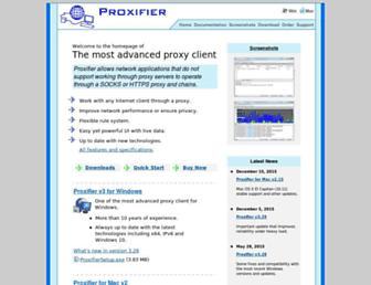 proxifier.com screenshot