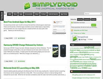 simplydroid.com screenshot