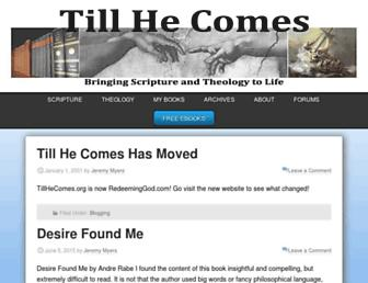 Thumbshot of Tillhecomes.org