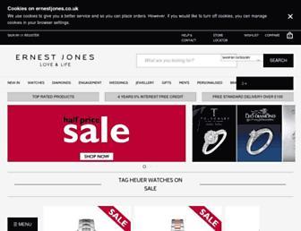 Thumbshot of Ernestjones.co.uk