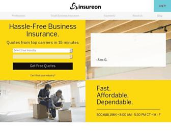 Thumbshot of Insureon.com