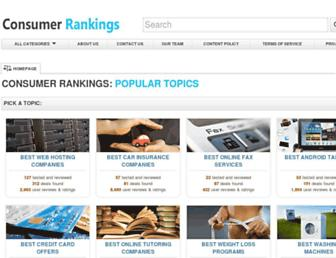 Thumbshot of Consumer-rankings.org