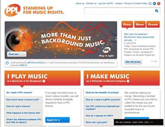 ppluk.com screenshot