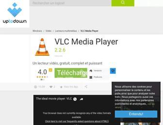 vlc-media-player.fr.uptodown.com screenshot