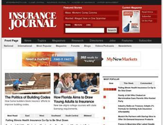 insurancejournal.com screenshot