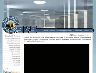 csvs.org screenshot