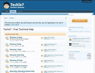 techie7.com screenshot