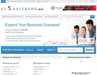 globaltrade.net screenshot