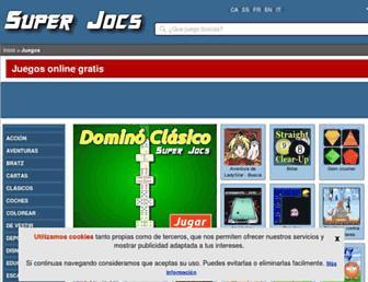 juegos.superjocs.com screenshot