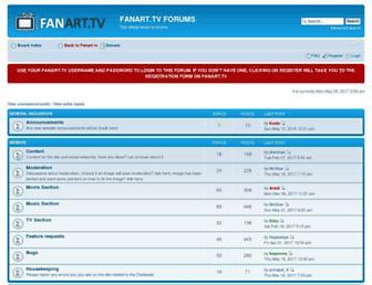 forum.fanart.tv screenshot